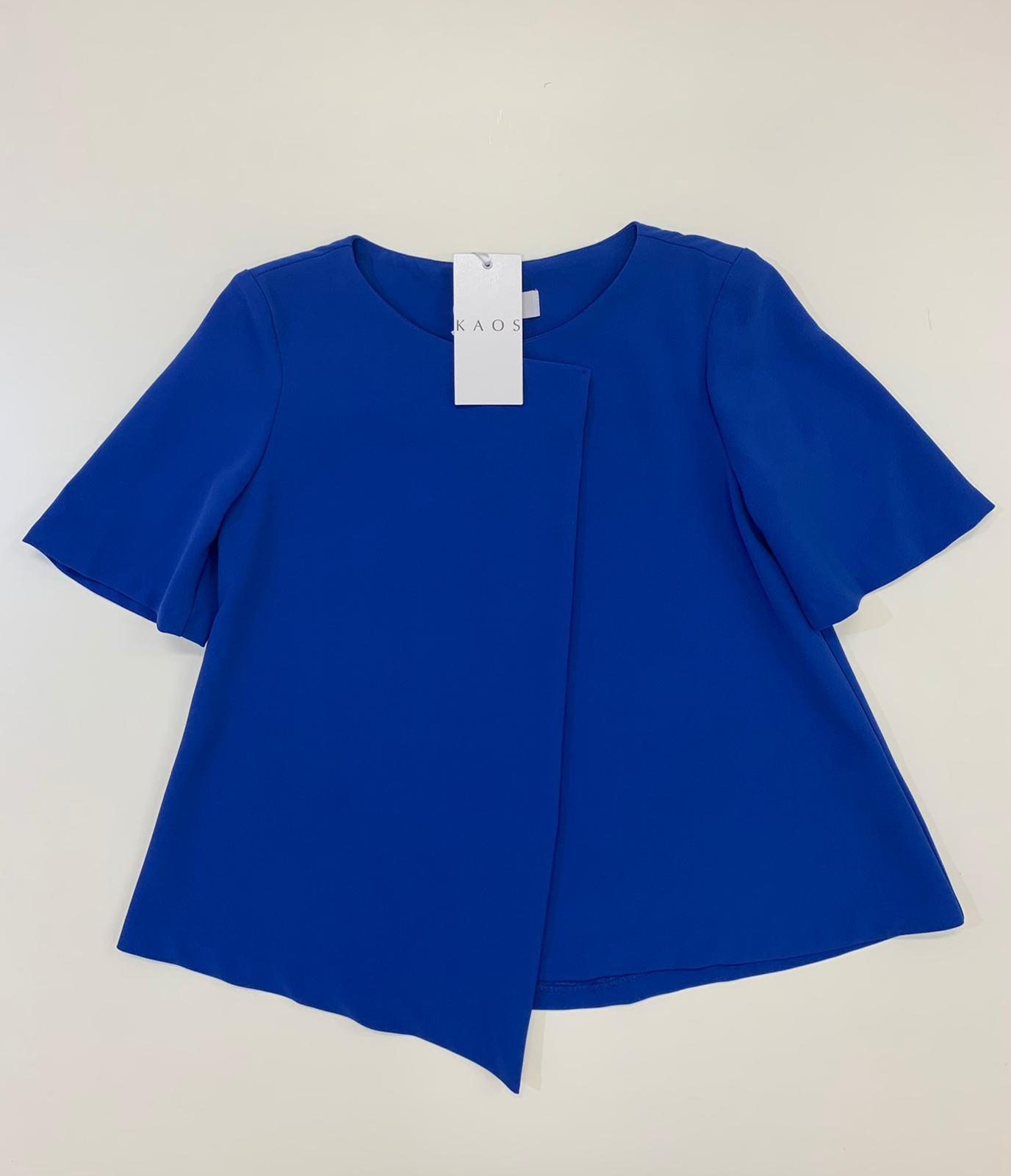 Blusa Donna Kaos Collection Bluette