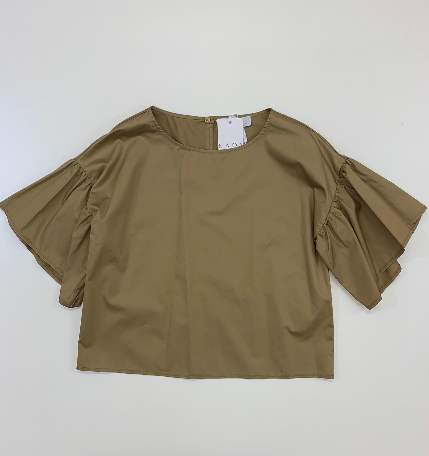 Blusa Donna Kaos Collection Cotone Deserto