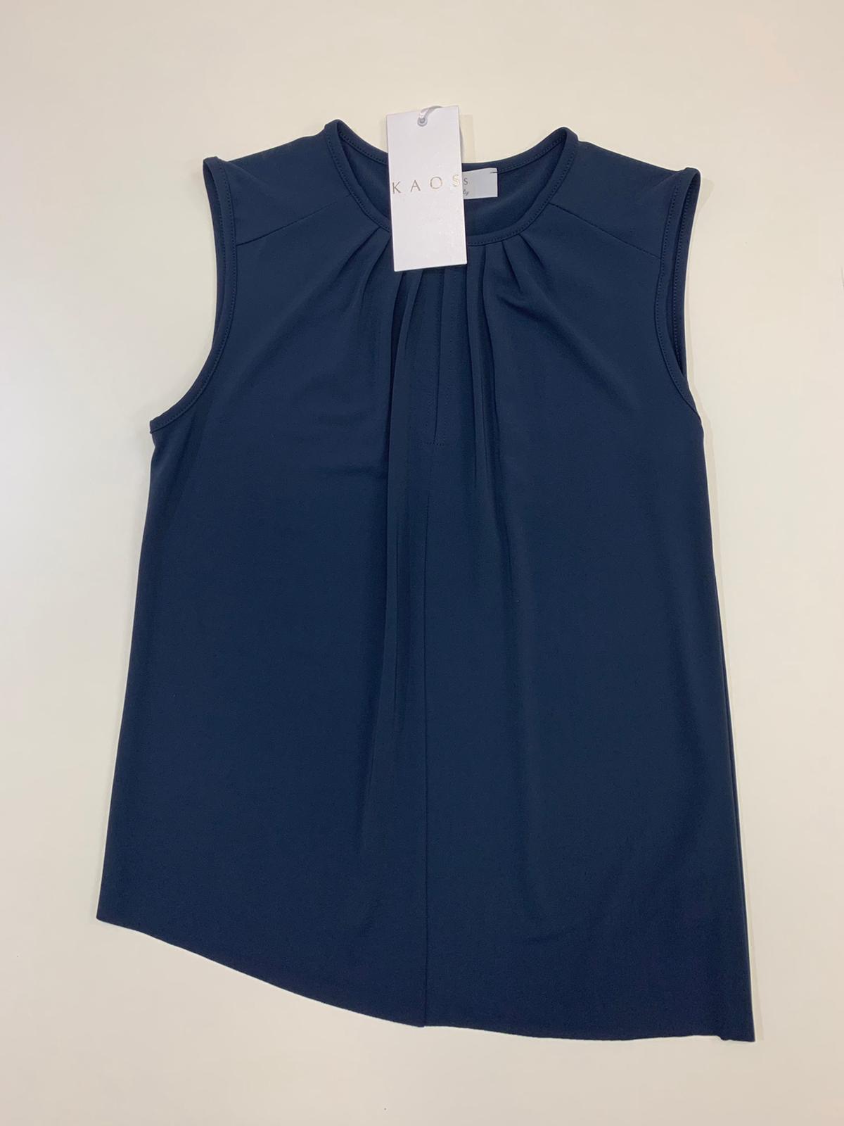 Blusa Donna Kaos Collection Jersey Blu
