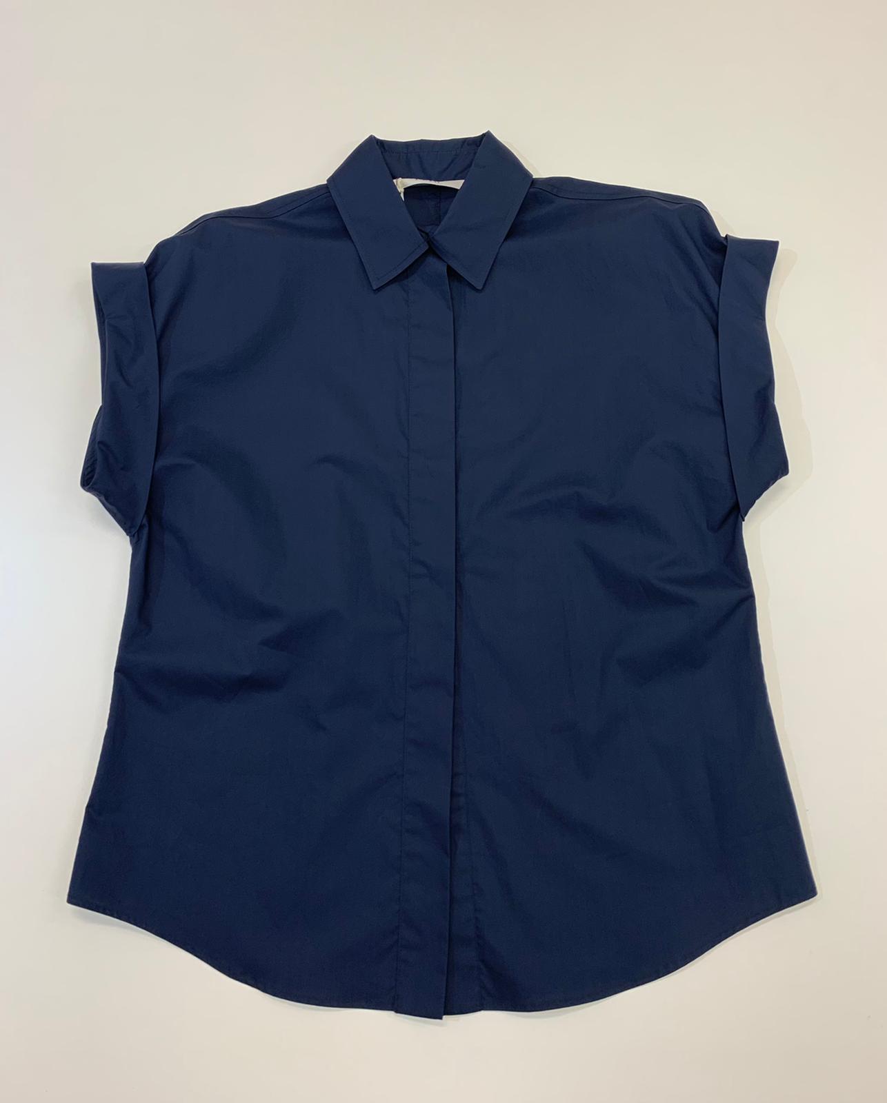 Camicia Donna Seventy Tela Blu