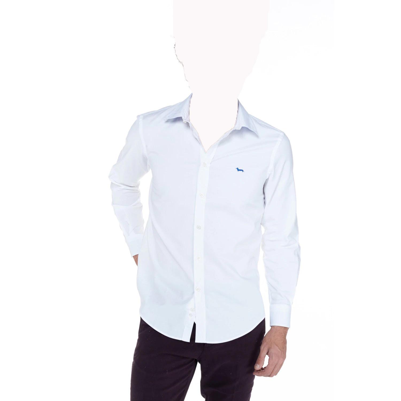 Camicia Uomo Harmont E Blaine 2 tessuti Resca Listino Bianco