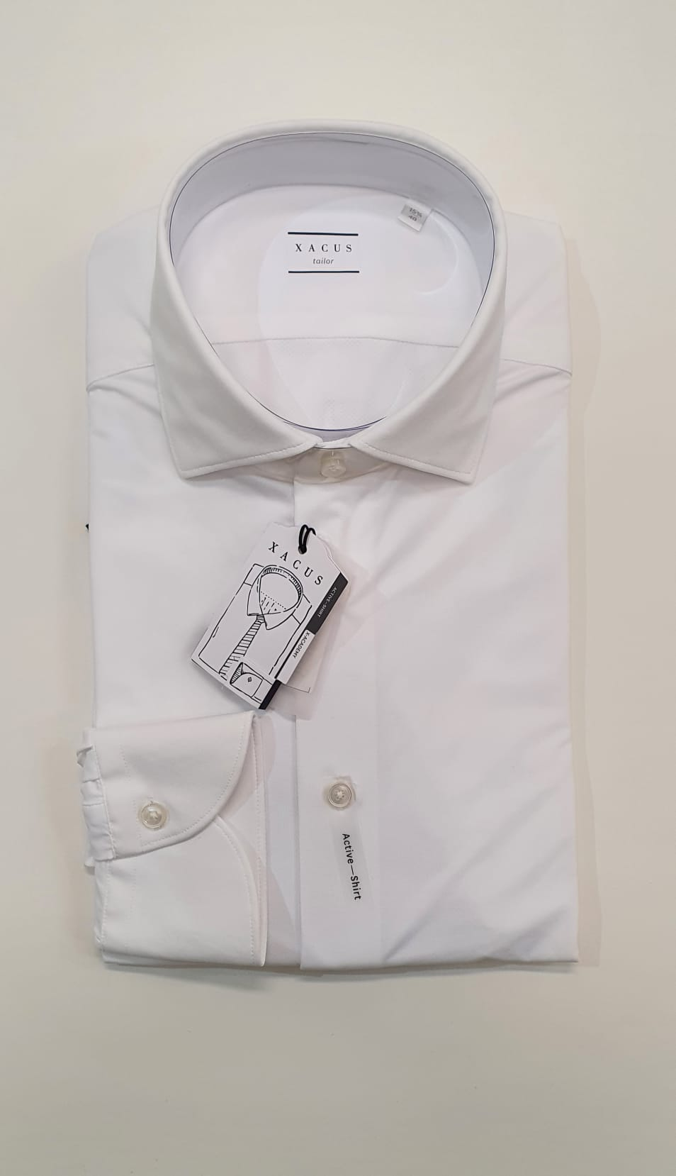 Camicia XACUS Active Tailor Poliammide Bianco