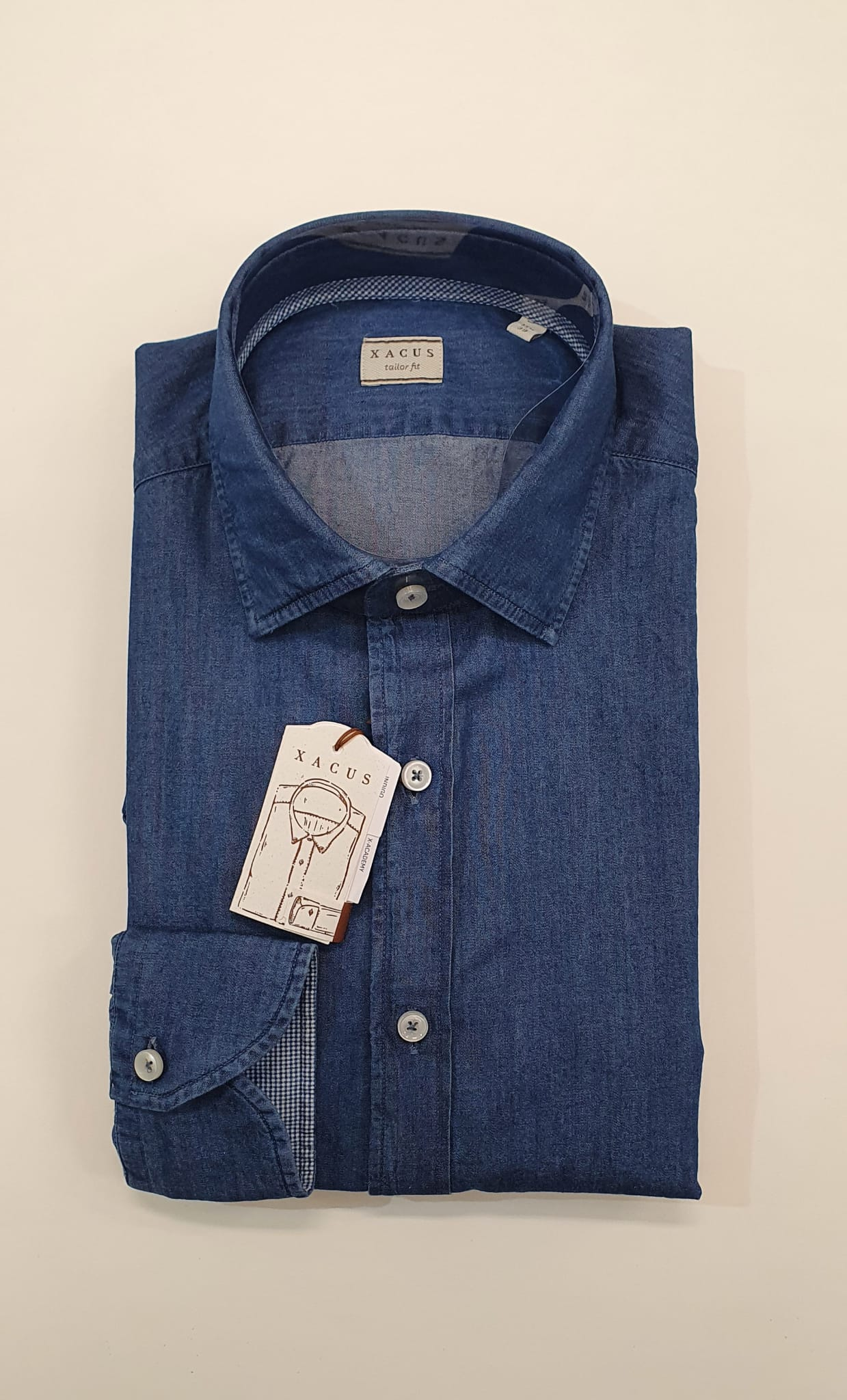 Camicia XACUS Taylor Denim in Denim