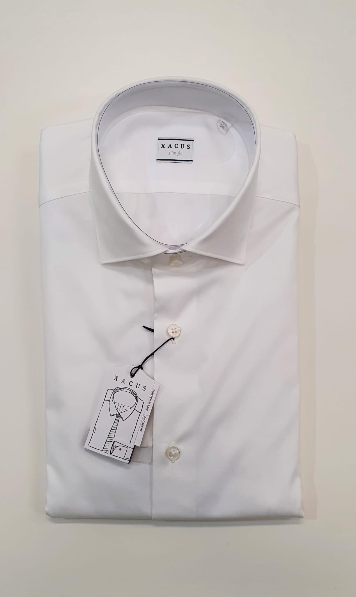 Camicia XACUS Taylor Elasticizzata Bianco