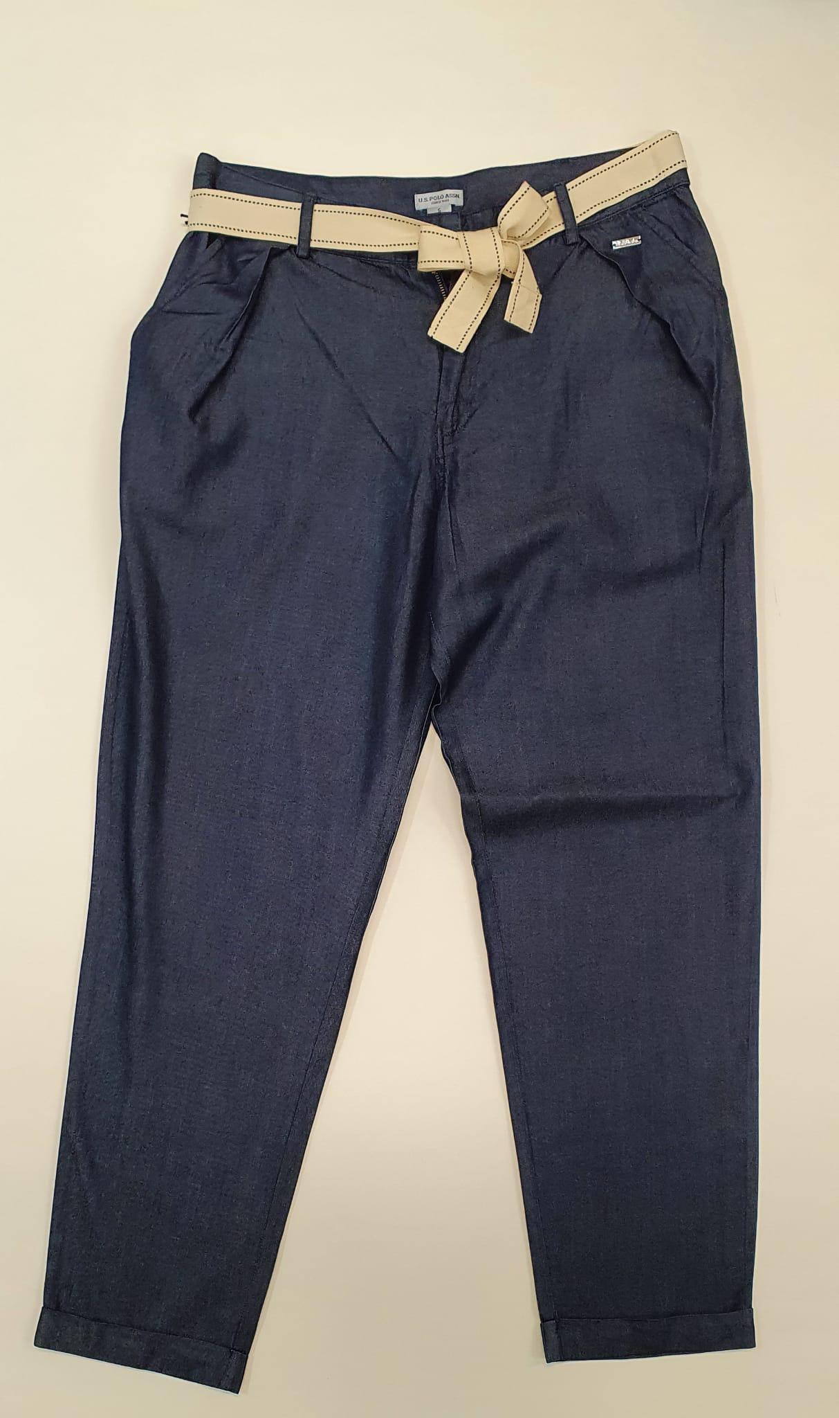 Jeans US Polo Leggero con Cintura Denim