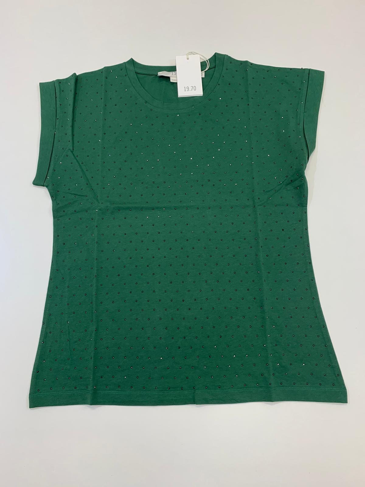 Maglia Donna Seventy Smanicato Verde