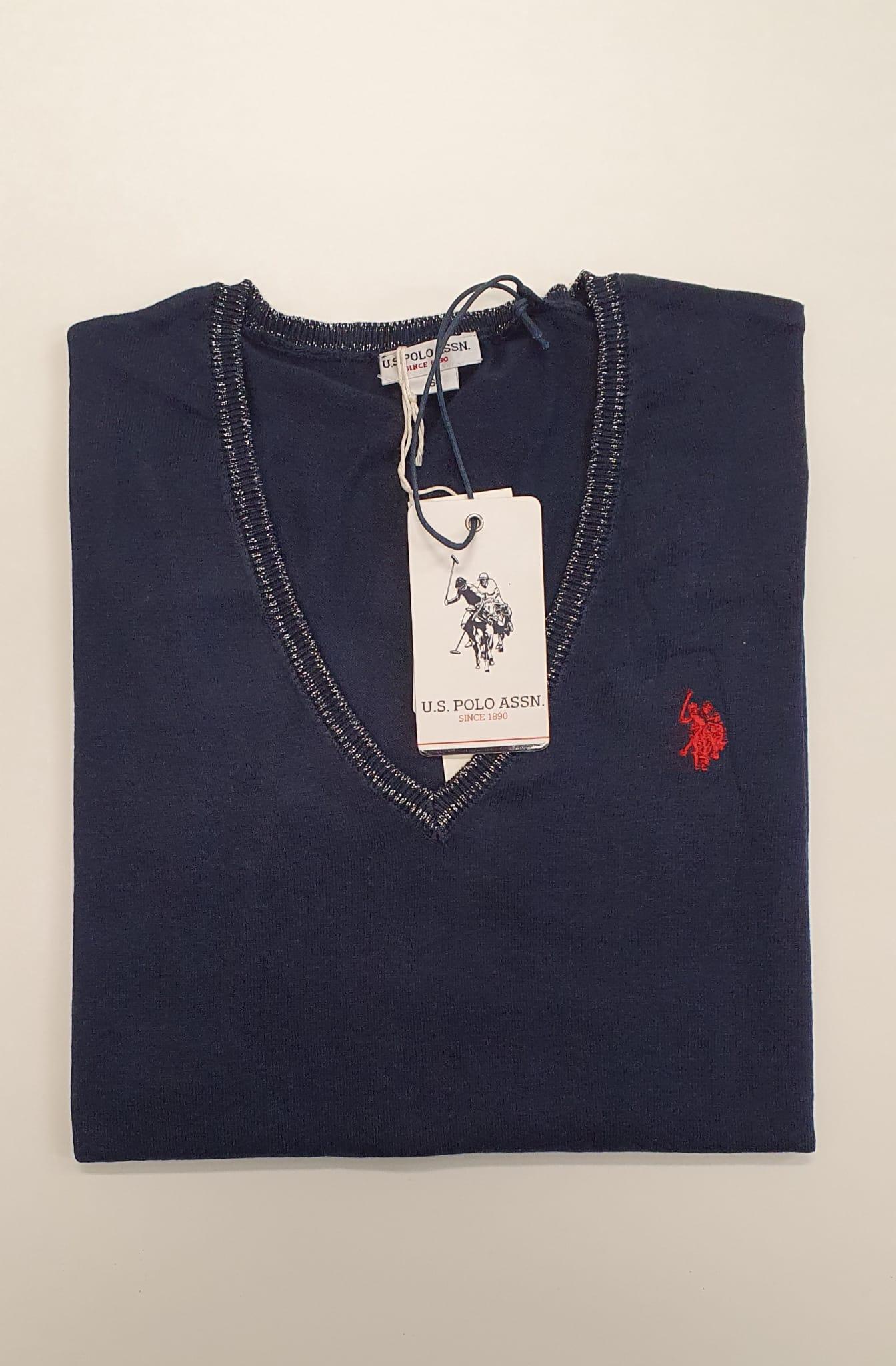Maglia US Polo Pullover Blu