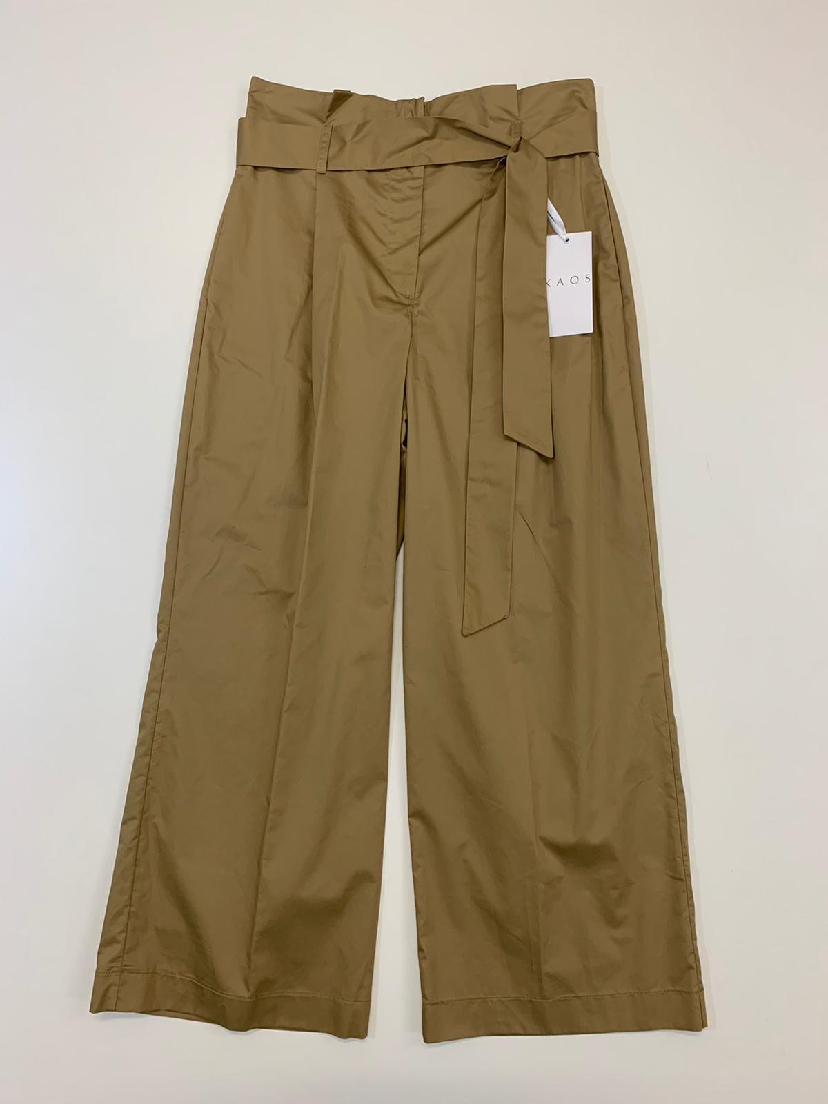 Pantalone Donna Kaos Collection Croppe Deserto
