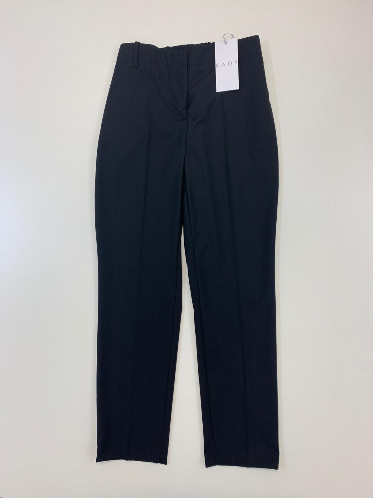 Pantalone Donna Kaos Collection Molla Nero
