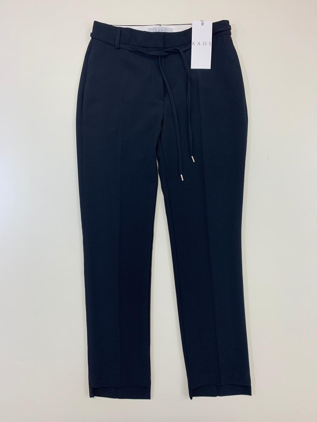 Pantalone Donna Kaos Collection Sigaretta Blu