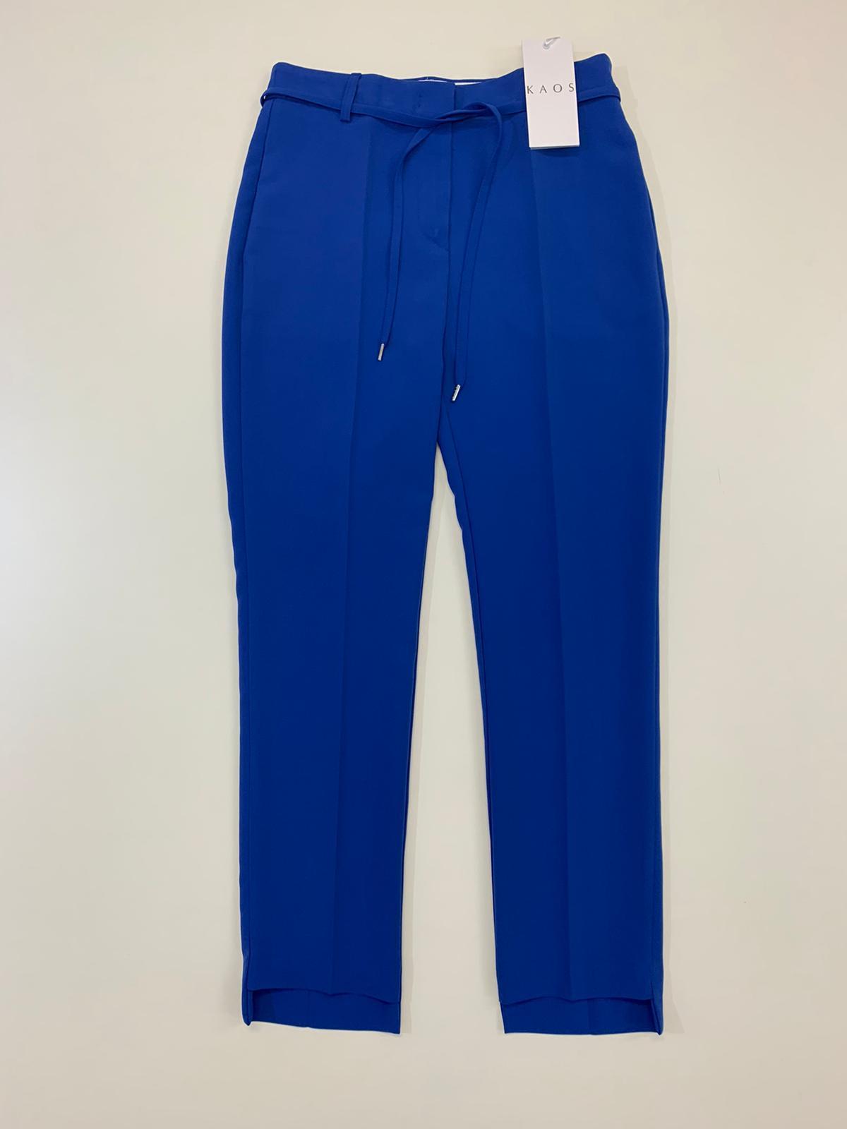 Pantalone Donna Kaos Collection Sigaretta Bluette