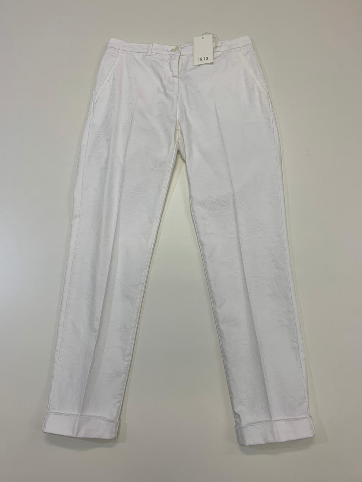 Pantalone Donna Seventy Bianco