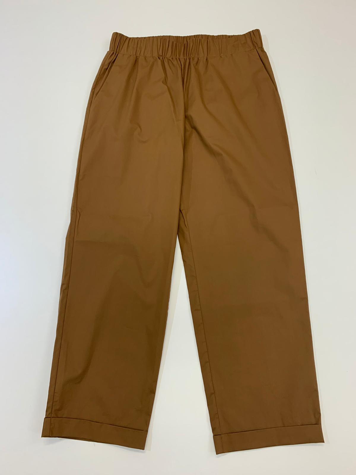 Pantalone Donna Seventy Tela Marrone