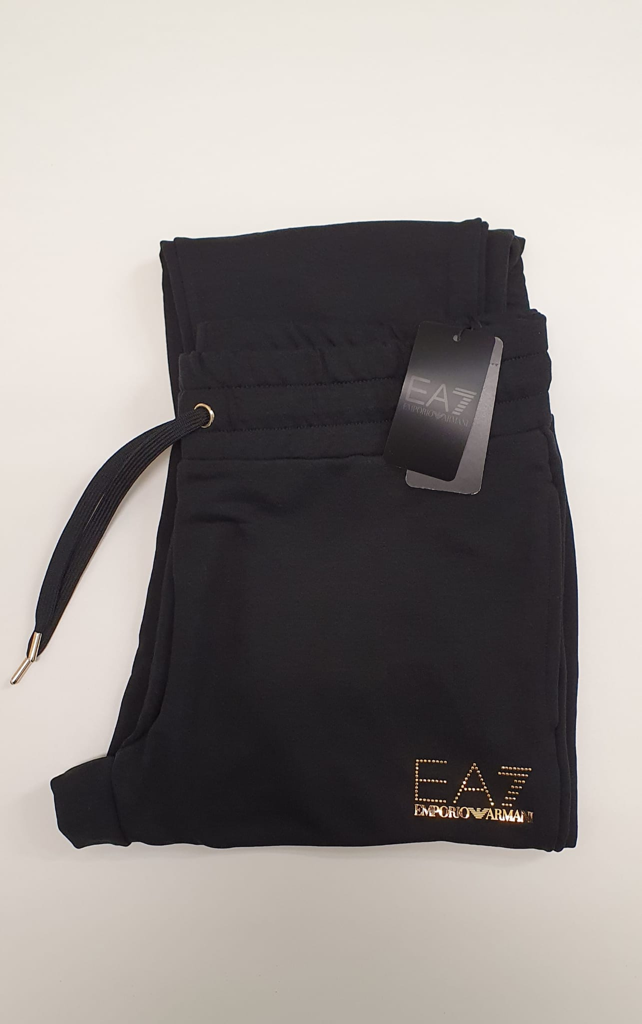 Pantalone EA7 Felpa Nero