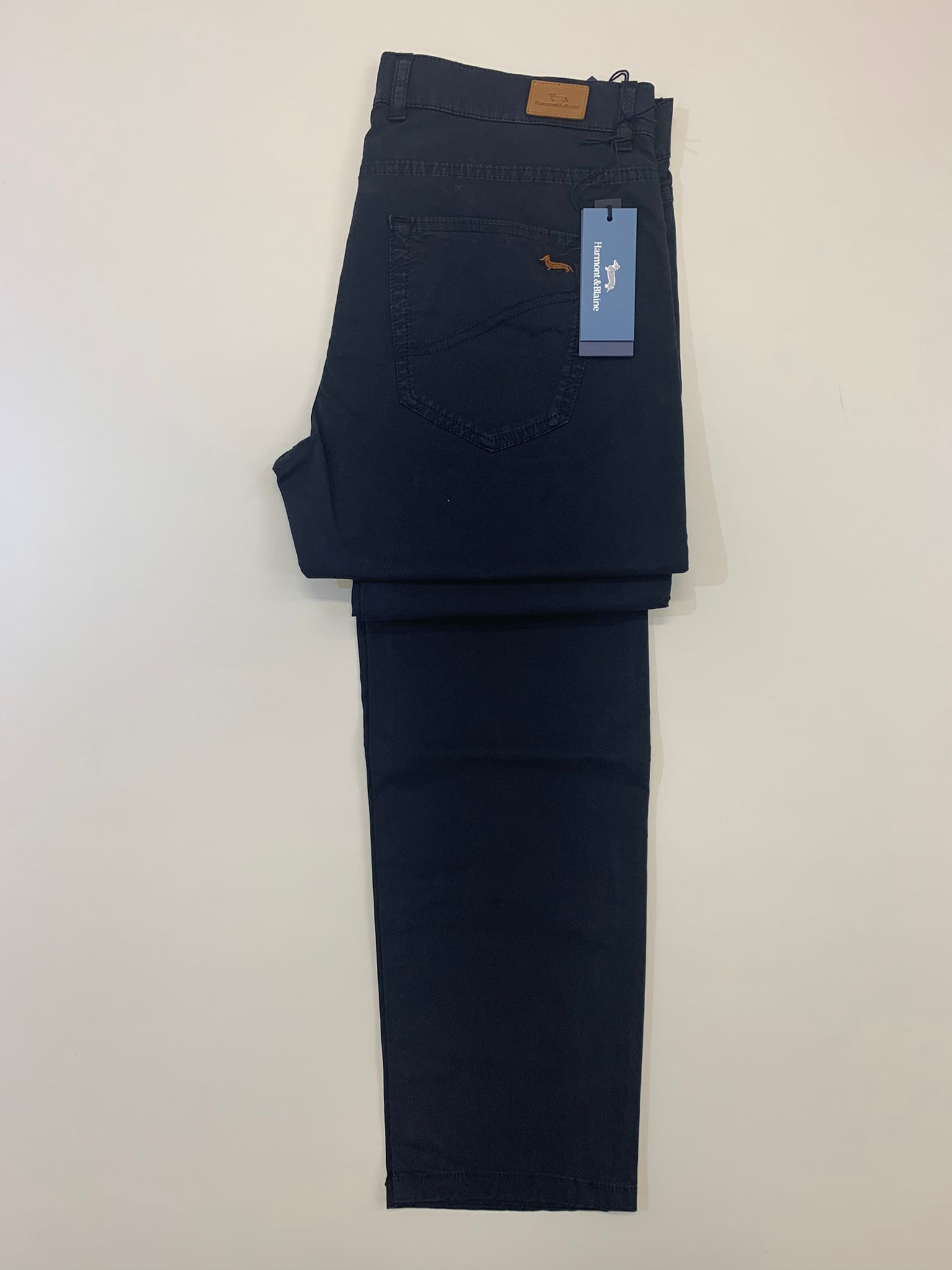 Pantalone Harmont e Blaine Cotone Leggero Blu