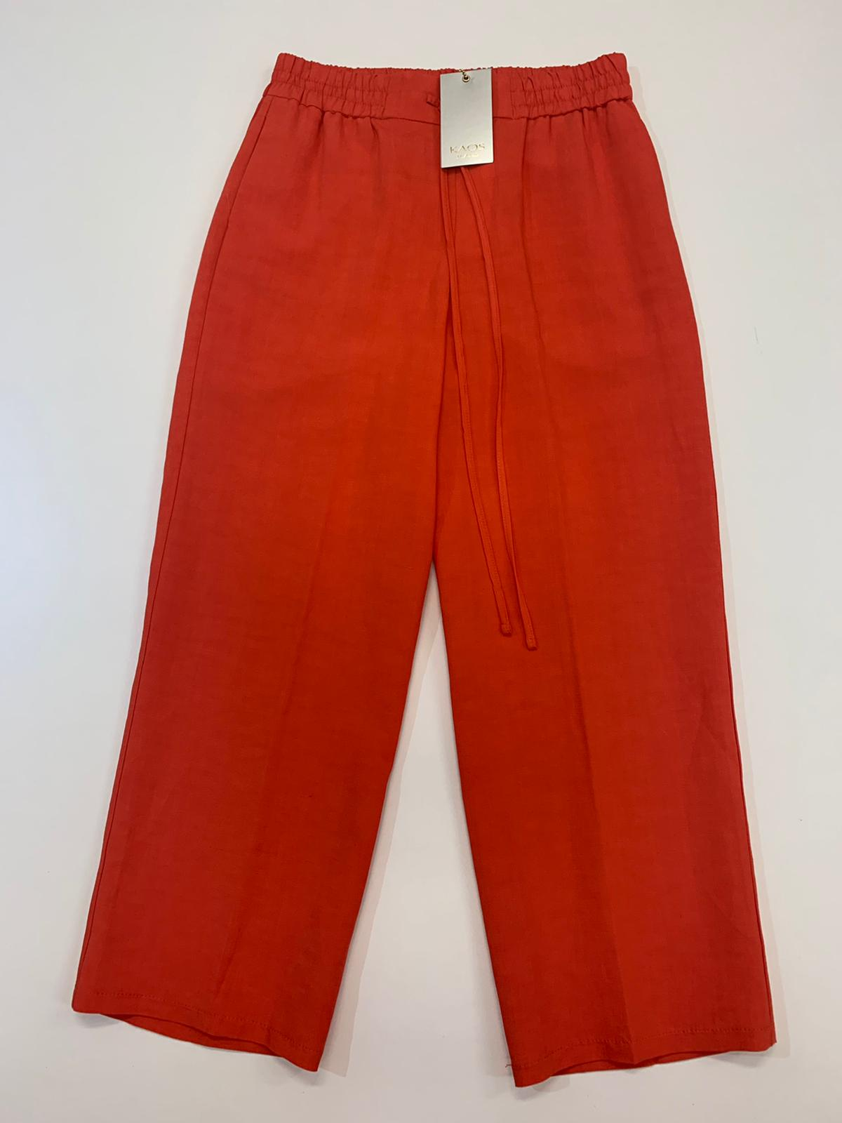 Pantalone Kaos Jeans Lino Aragosta