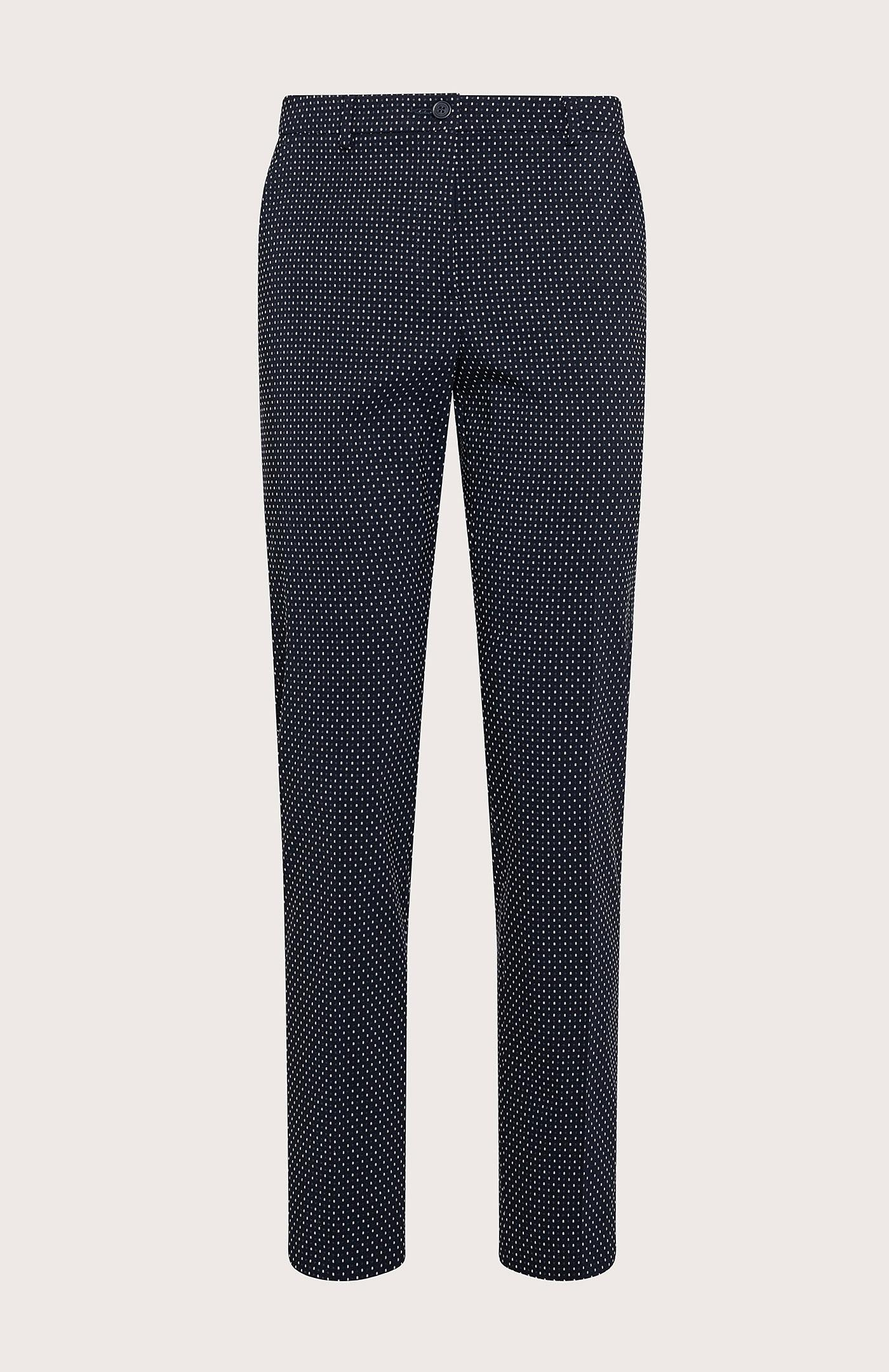 Pantalone Seventy a Sigaretta Stretch Blu
