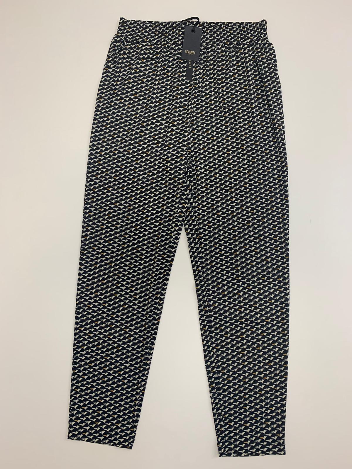 Pantalone Seventy Jersey Nero