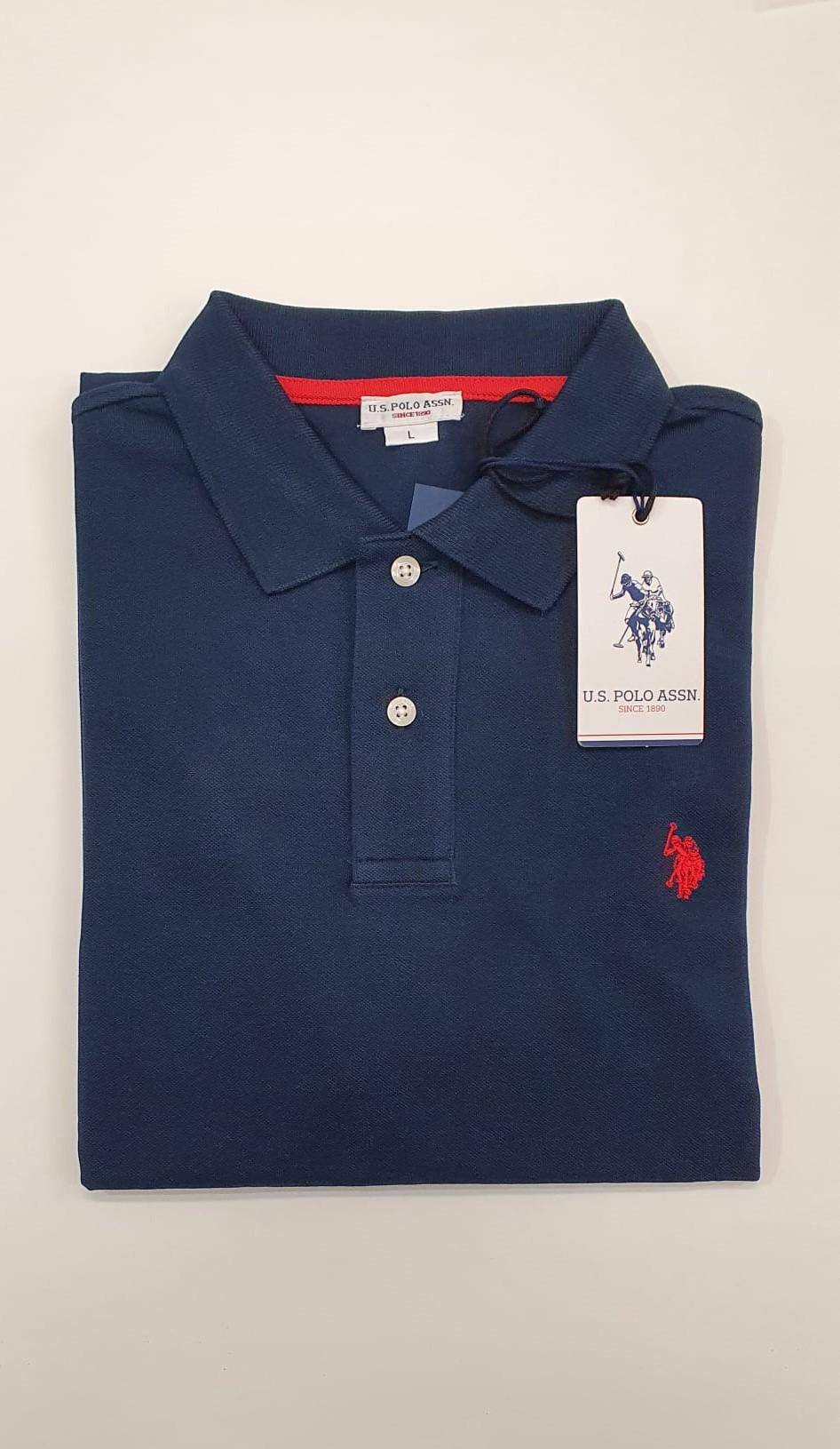 Polo US Polo Basica Blu