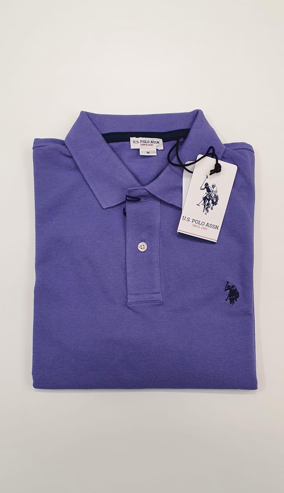 Polo US Polo Basica Viola