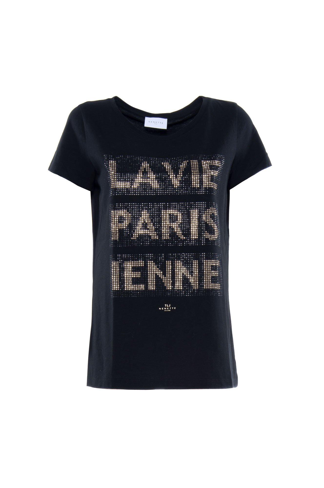T-Shirt Donna Nenette Dono Nera