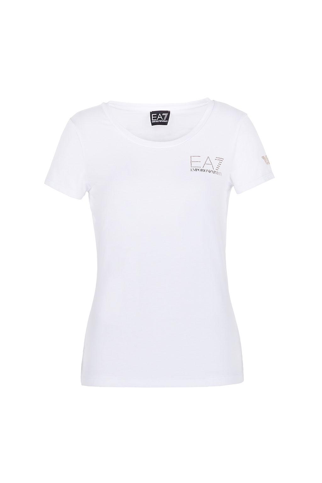 T-Shirt EA7 Modal Bianco