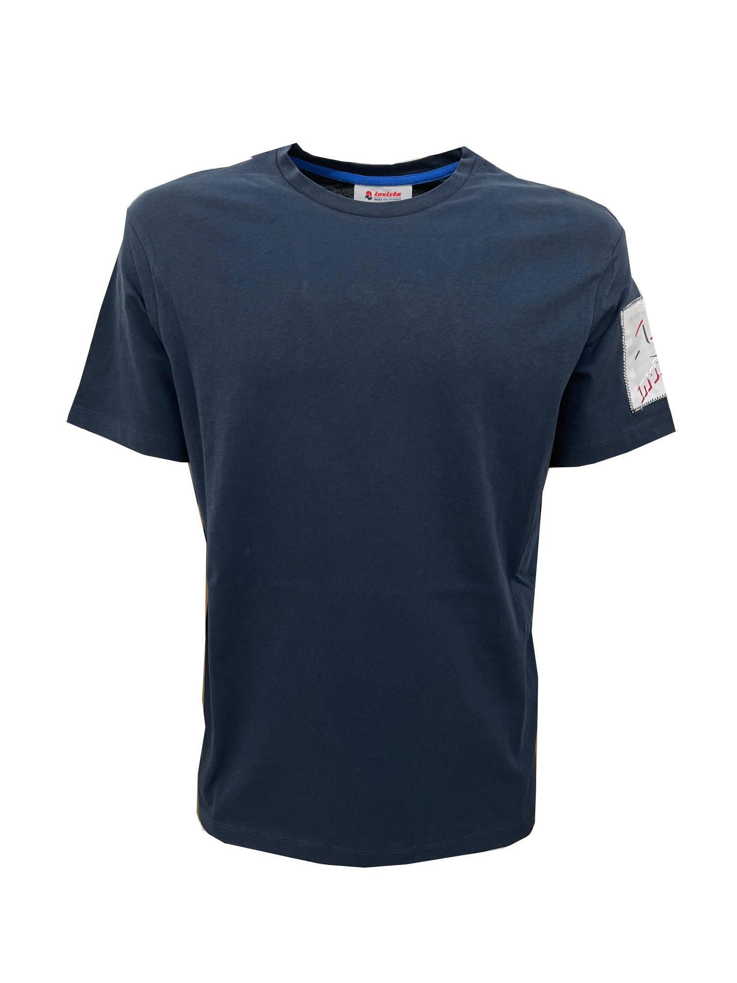 T-Shirt Invicta a Maniche Corte Blu