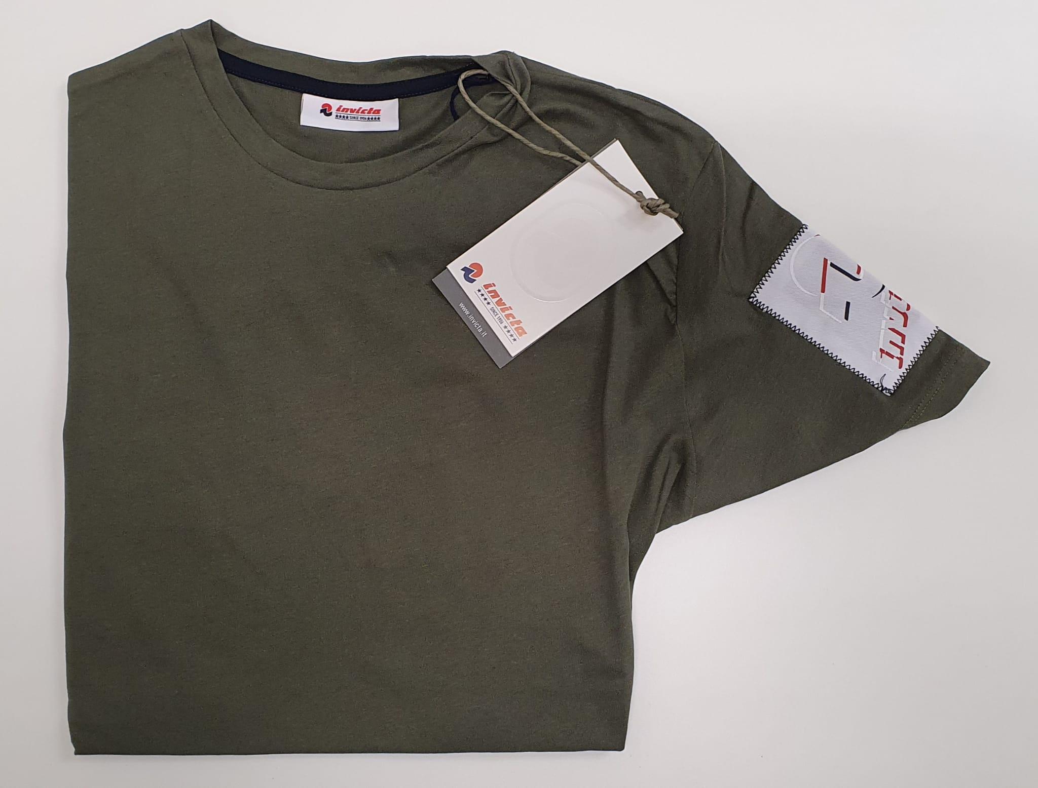 T-Shirt Invicta a Maniche Corte Salvia