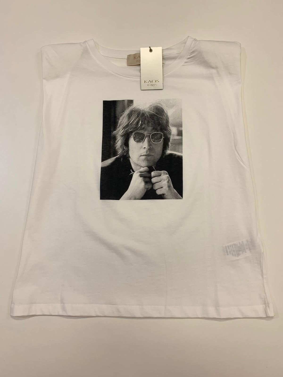 T-Shirt Kaos Jeasn Lenon Latte