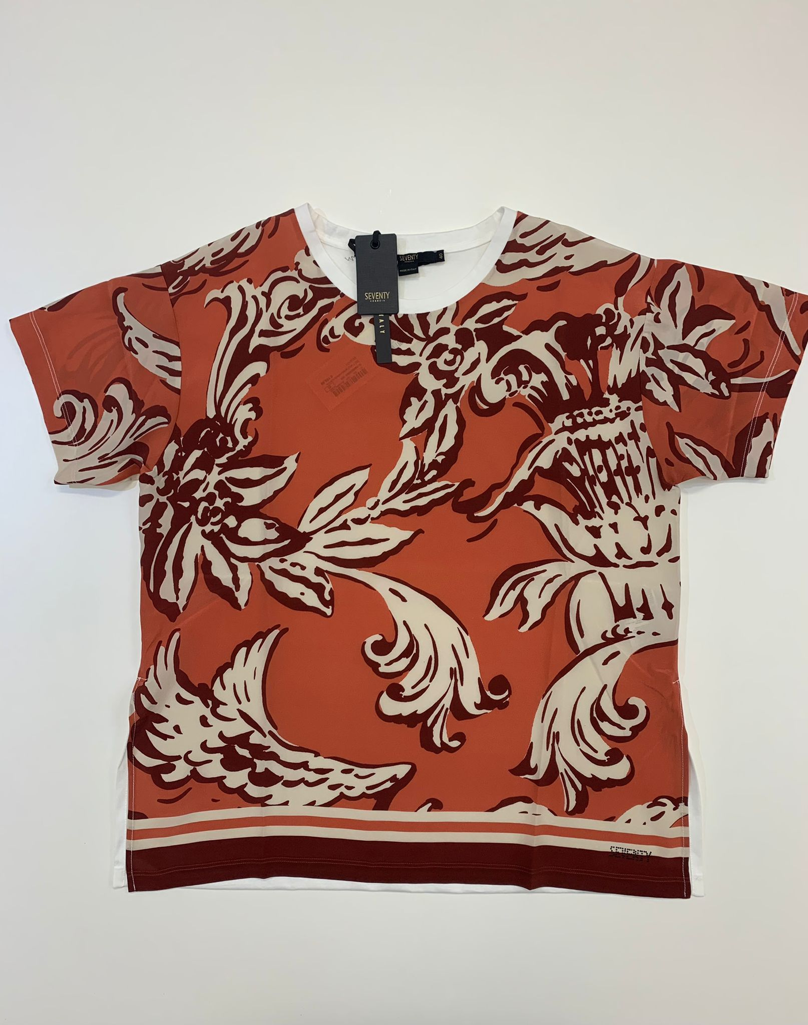 T-Shirt Seventy Jersey Arancio