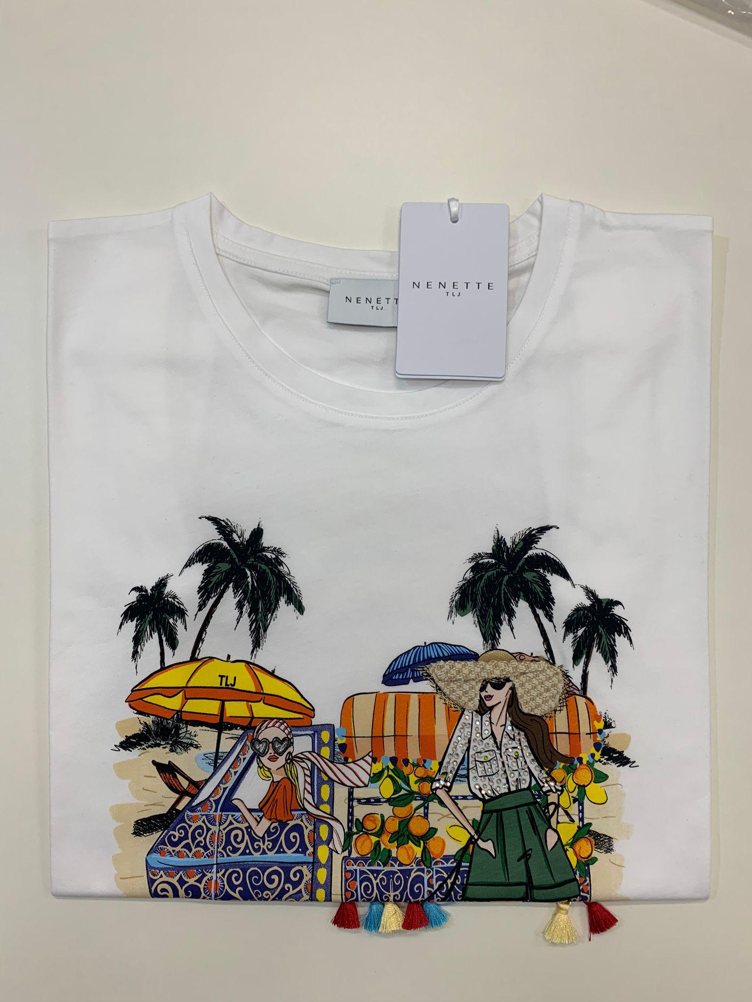 T-Shirt Tous Les Jours Dakota Bianco