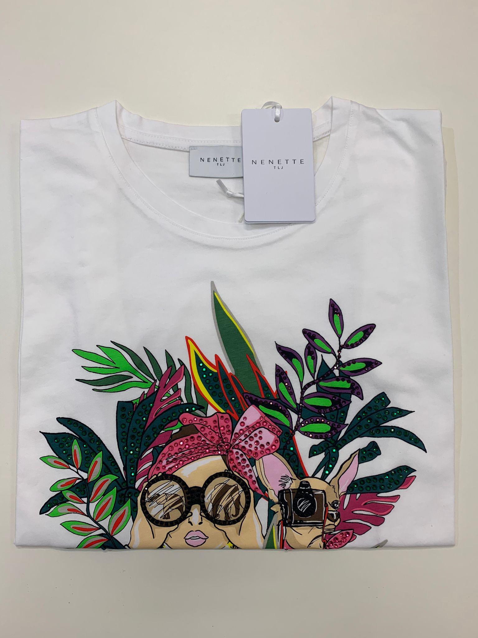 T-Shirt Tous Les Jours Dastin Bianco