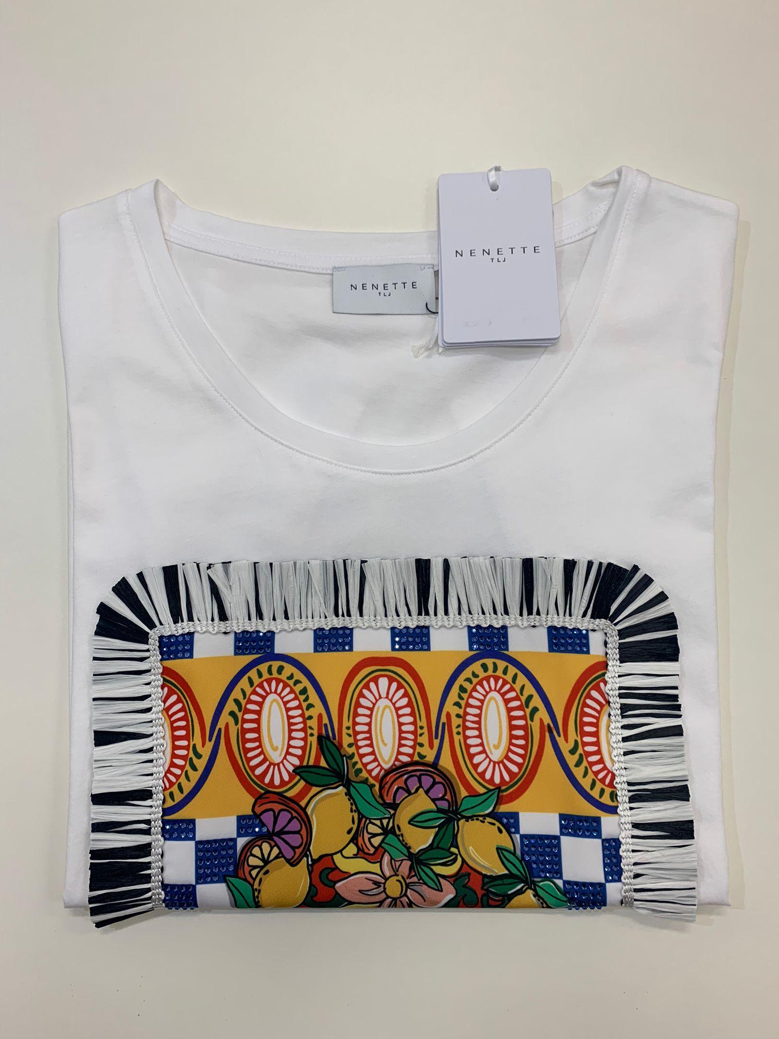 T-Shirt Tous Les Jours Dedalo Bianco