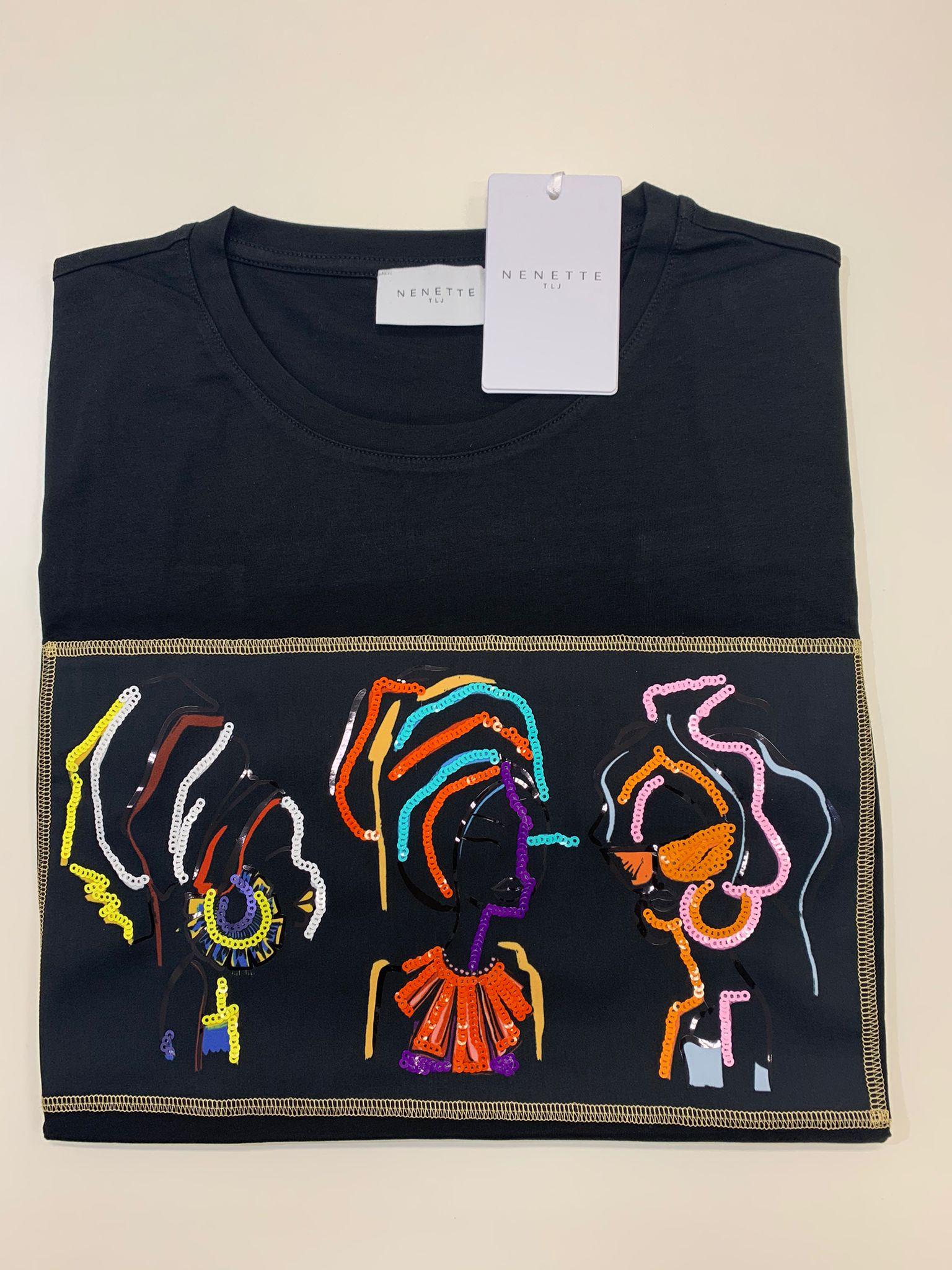 T-Shirt Tous Les Jours Dingo Nero