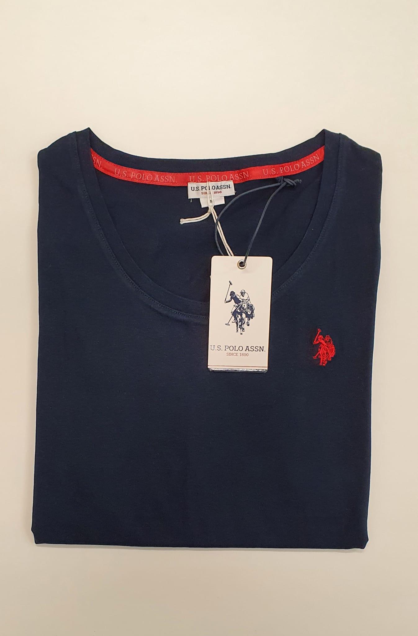 T-Shirt US Polo Basica Blu