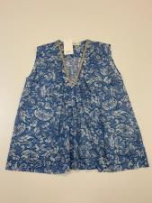 Camicia Donna Seventy Strisce Musso Azzurro