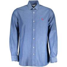 Camicia Uomo US Polo Maniche Lunghe Jeans