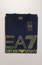 T-Shirt EA7 Reg Macro Blu
