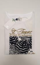 T-Shirt La Martina Viscosa Regular Fit Bianco